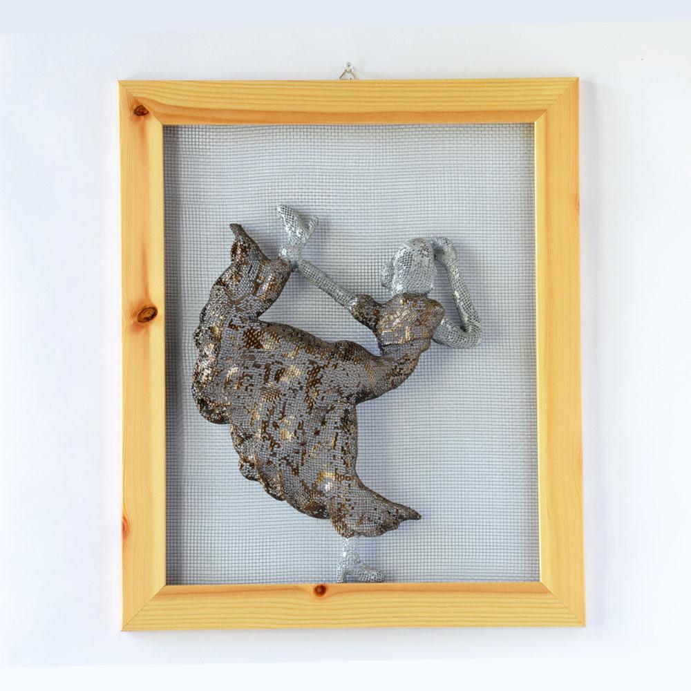 Metal Wall Art - NUNTCHI | Wire Mesh Sculptures