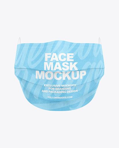 Download Medical Face Mask Mockup Psd Yellowimages Mockups