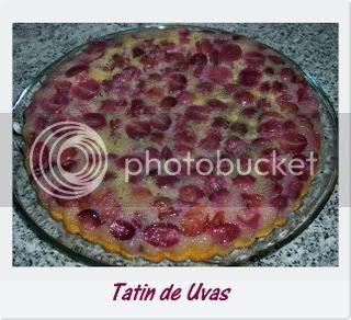 Tatin de uvas 1