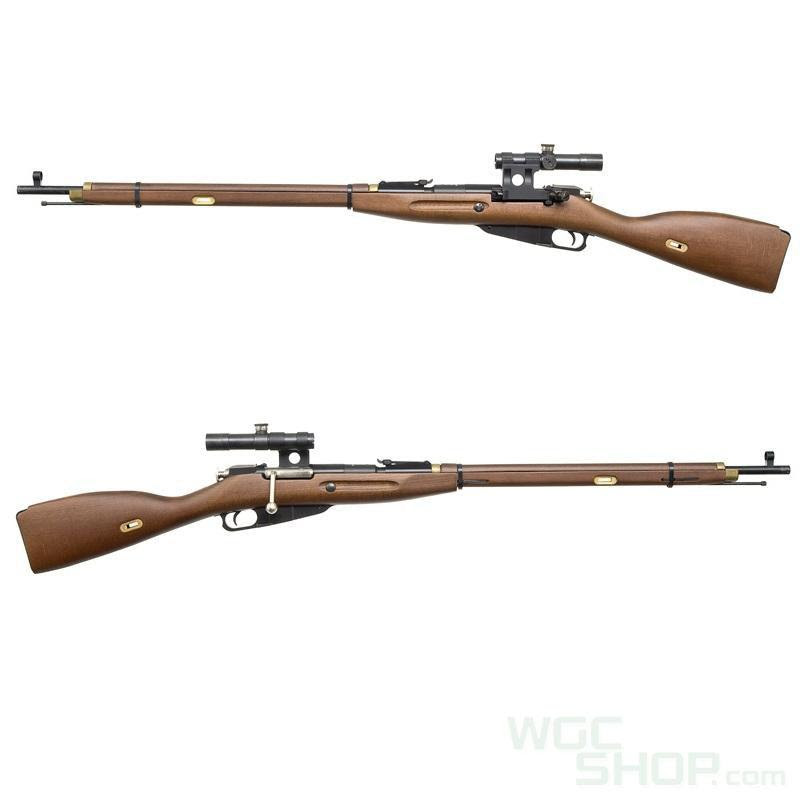 Pps Real Wood Mosin Nagant M1891 30 Spring Bolt Action Rifle With Scope Airsoft Aeg Gas Blowback Upgrade Parts