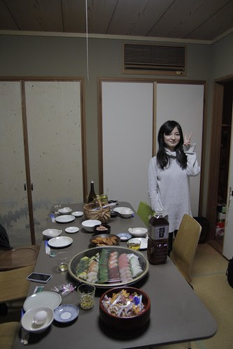 Maiko, before dinner is served