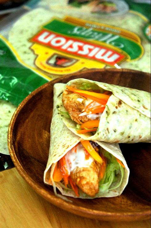 Fajita Chicken Wrap