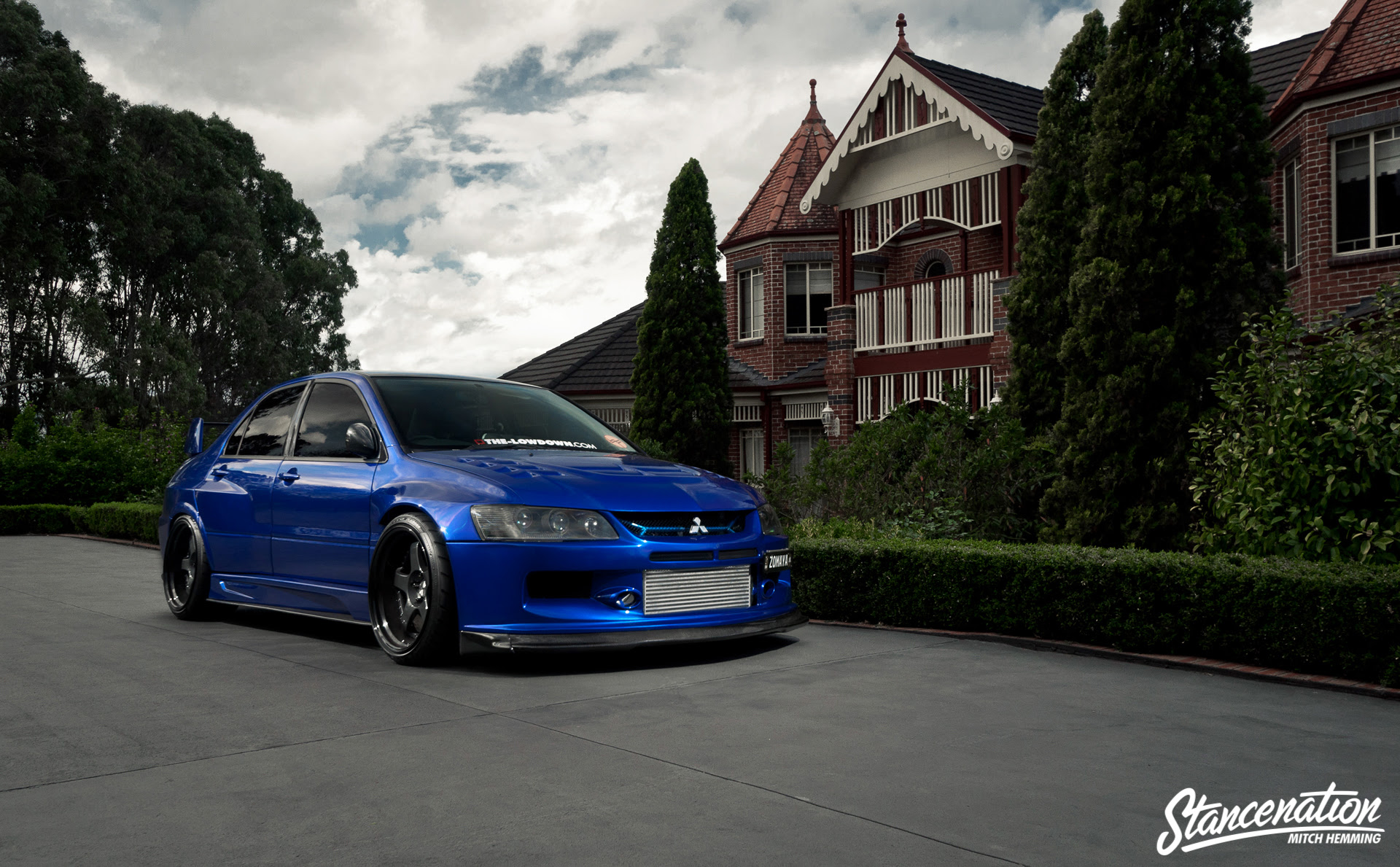 Epitome Of Modification Michael Zomayas Widebody Evo