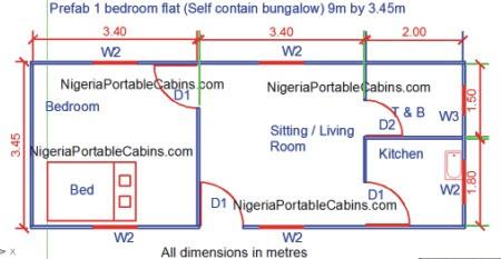 2 Bedroom Duplex Apartment Plans