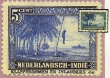 5 cent blauw