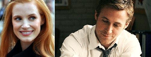 Jessica Chastain  Ryan Gosling
