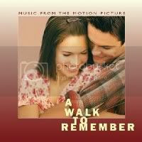 A Walk To Remember soundtrack CD cover