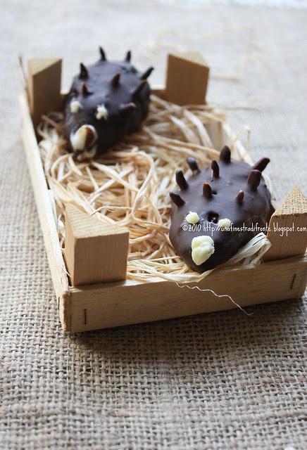 Porcospini di cioccolato