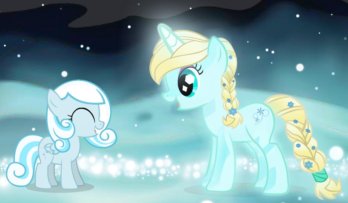 Frozen My Little Pony My Little Pony Friendship Is Magic Fan Art 36661341 Fanpop