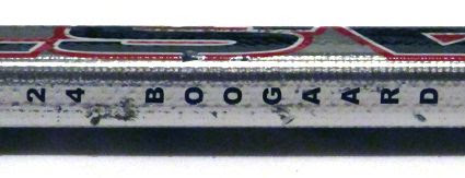 Boogaard Stick Detail