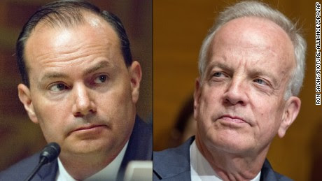 Republican Senators Mike Lee and Jerry Moran tonight announced their opposition to the revised health bill, and will vote no on the motion that would allow it to go to the floor.