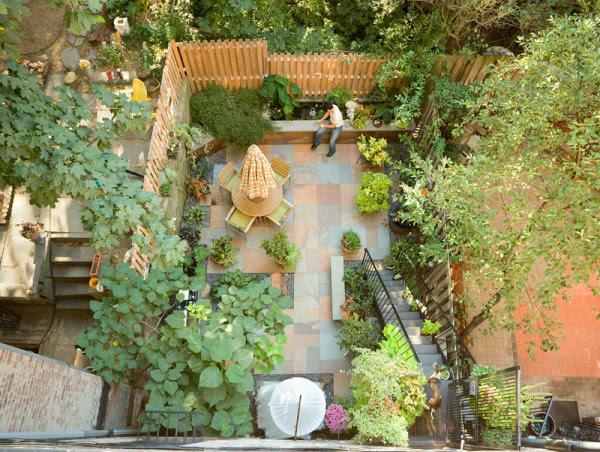 Halaman Belakang Rumah Minimalis Yang  Terlihat Luas