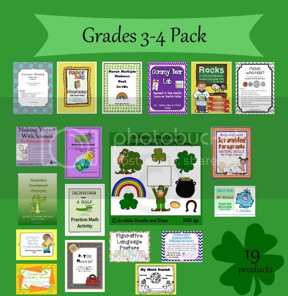 Are you feeling lucky contest grade 3 and 4 teaching resources