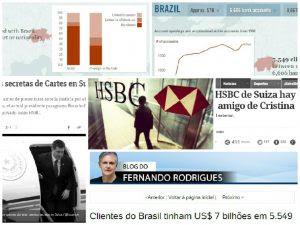 Contas secretas do HSBC paralisam o mundo, menos o Brasil