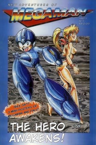 New Adventures Of Mega Man Comic