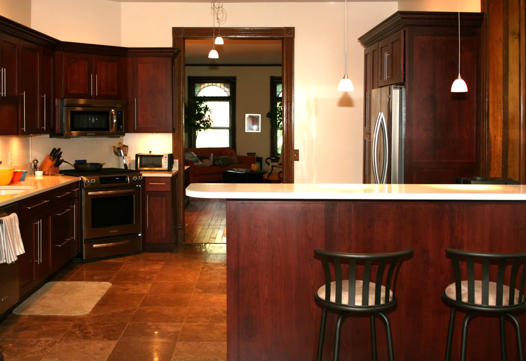 Kitchen Paint Colors with Cherry Cabinets - Decor ...