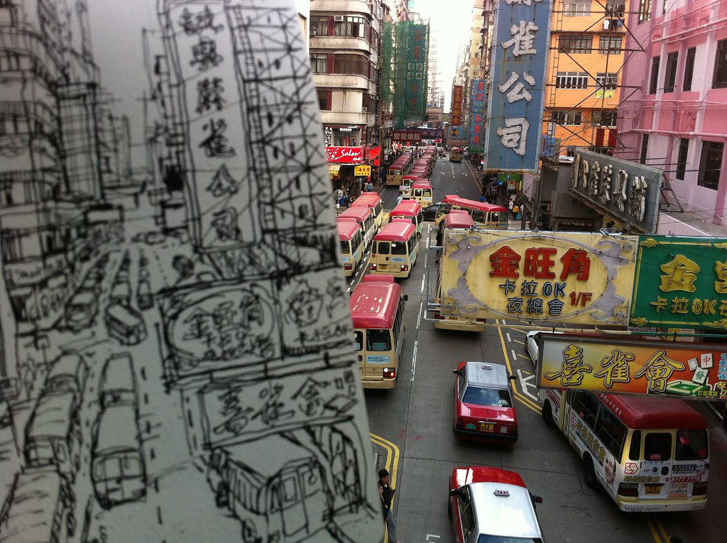 MongKok from above, HK