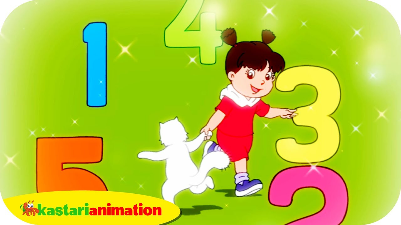 AYO BERHITUNG Lagu Anak Indonesia HD Kastari Animation Official