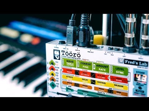 Töörö Digilog Synthesizer | A modern Wavetable with Analog Filters, yes! That doesn't cost a house..