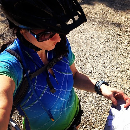 Just bc you have a map doesn't mean it'll be easy to figure out where you're going. #mtb #wheresthetrail #lakeoftheozarks
