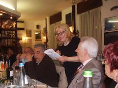 Al Ristorante PESCE SPADA.. si pranza con.. POESIA di .. OSCAR Internaz.!