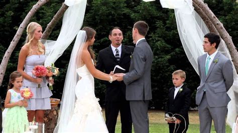 Michael and Hannah's Wedding Ceremony, August 2, 2013