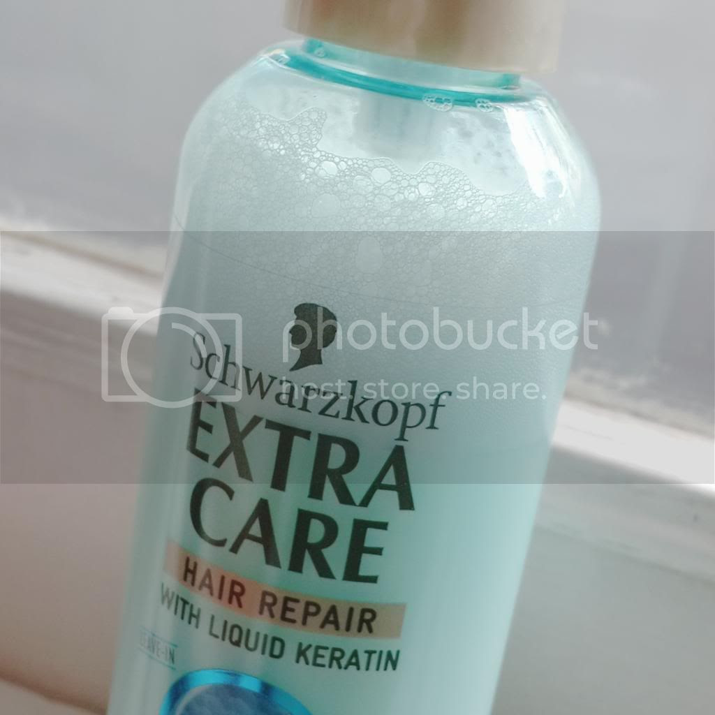 schwarzkopf extra care hair repair hydro collagen spray