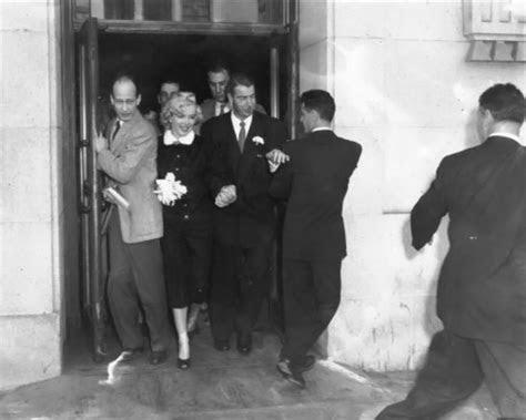 Marilyn Monroe images Marilyn and Joe DiMaggio Wedding