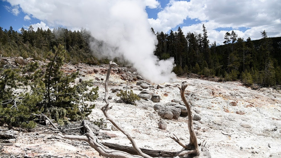A thermal spring near Old Faithful in Yellowstone National Park has erupted for the fourth time in the last 60 years, a park official said Thursday, Sept. 20.