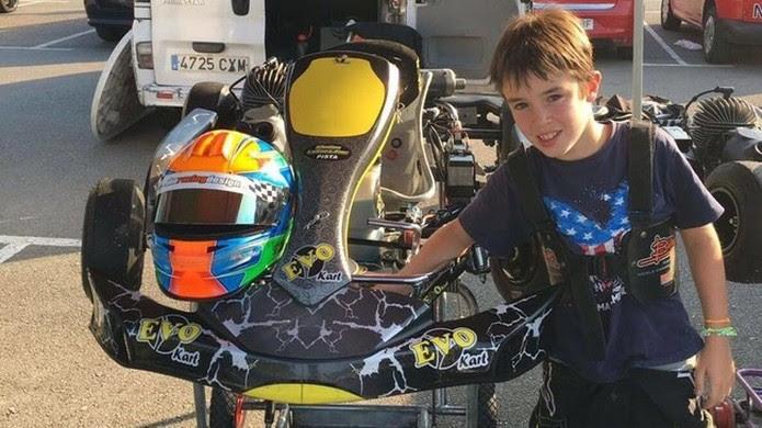 Menino de 11 anos morre em acidente no circuito de Fernando Alonso na Espanha