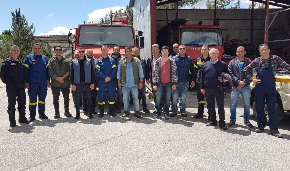 Θεσπρωτία: Εκπαιδεύτηκε το προσωπικού του δήμου Σουλίου σε θέματα πυρασφάλειας από την Πυροσβεστική Παραμυθιας