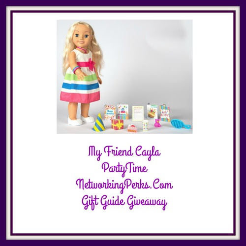 Enter the My Friend Cayla Party Time Family Gift Guide Giveaway. Ends 12/2