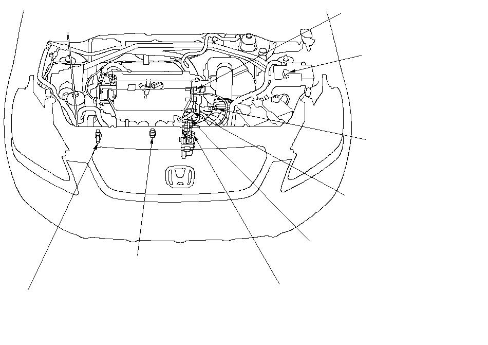 Honda Crv Knock Sensor Location