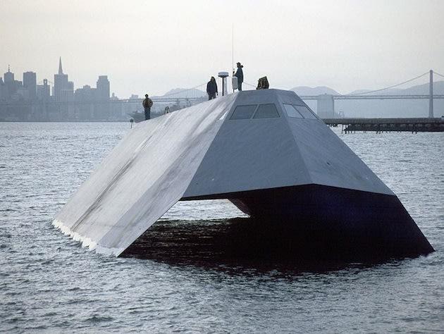 Sudah tahu belum Kapal Selam jenis Stealth