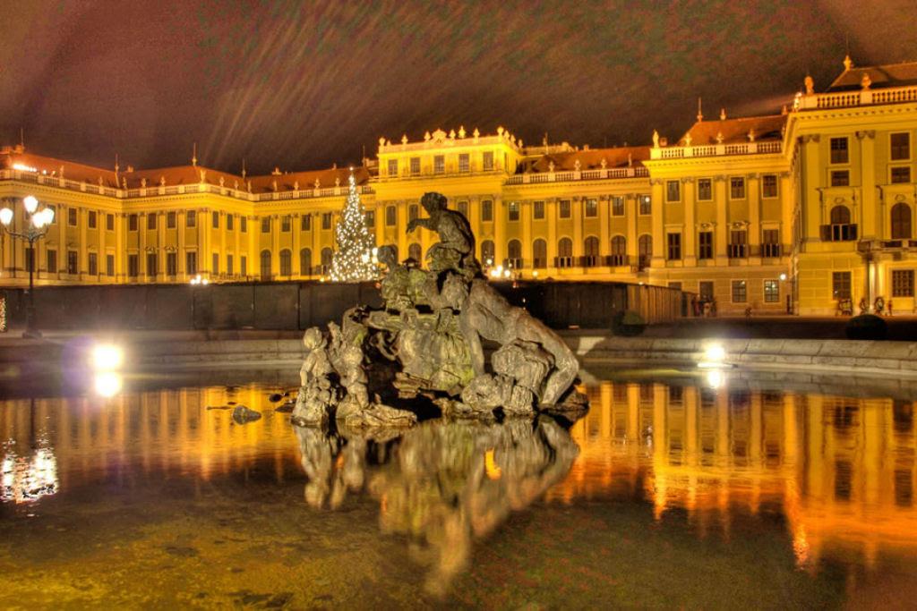Lugares famosos sob o manto da noite 23