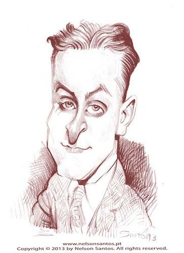 F_Scott_Fitzgerald by caricaturas