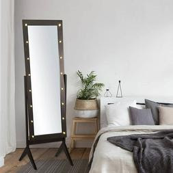 Lighted Full Length Mirror Bedroom Free