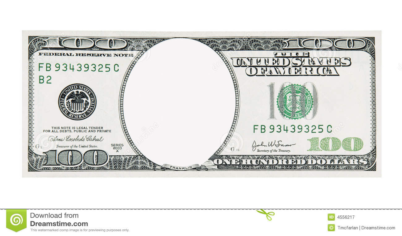 100 Dollar Bill Royalty Free Stock Photo - Image: 35050035