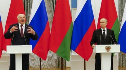 Путин и Лукашенко продолжают переговоры после пресс-конференции