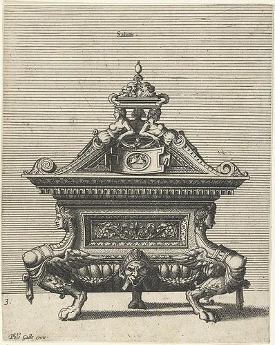 Saliniumtitel - grotesque sideboard
