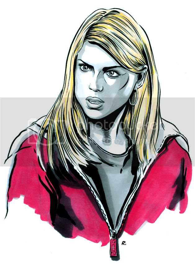 Rose Tyler,Graeme Neil Reid,Doctor Who,Sketch