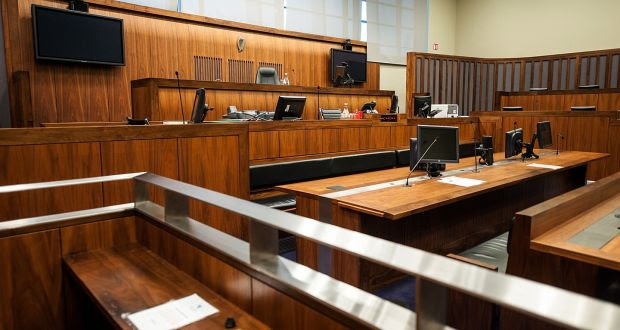 The child gave evidence via video-link and with the help of a intermediary who explained questions to him. It is the first time an intermediary has been used in an Irish court. Photograph: Collins Courts
