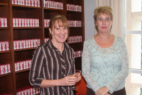 Anne Devenish and Sue Chilman