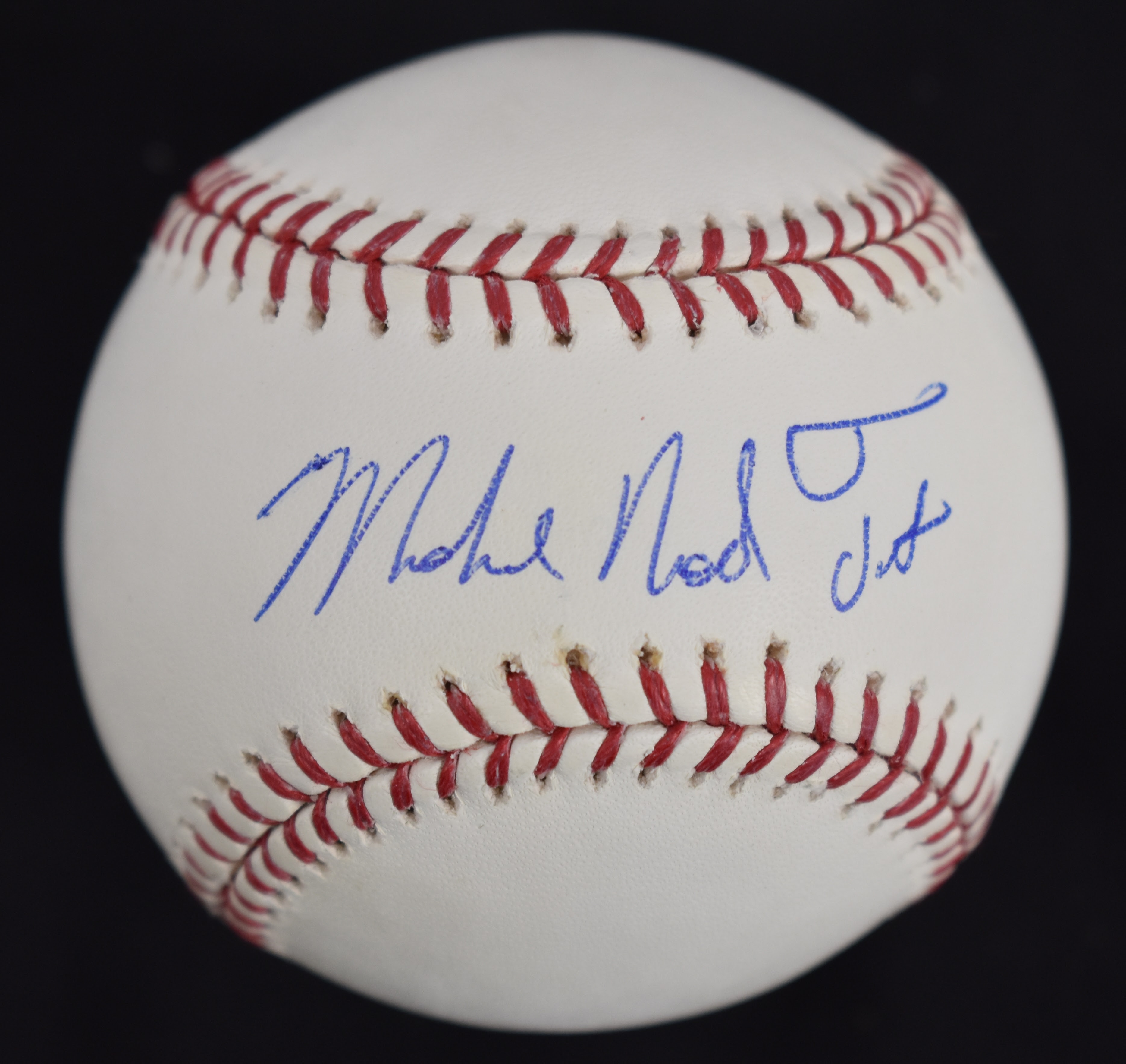 Lot Detail - Michael Nelson Trout RARE Autographed Full ...