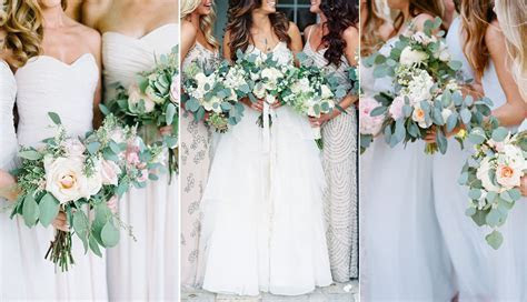 20 Best Greenery Wedding Bouquets   Roses & Rings