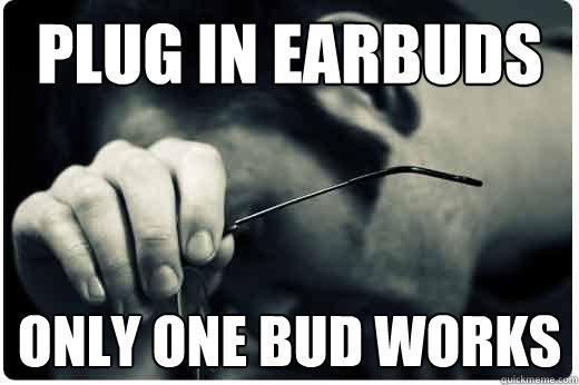 Image result for earbuds meme
