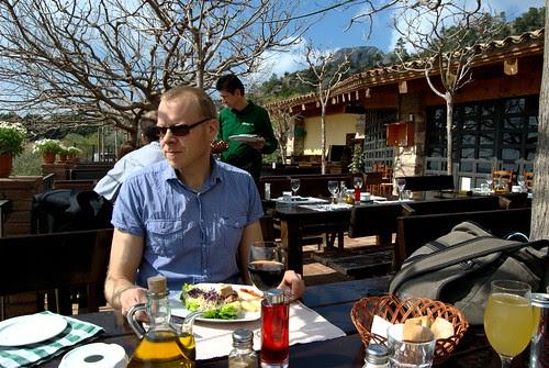 Lunch at Vinya Nova
