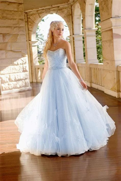 Blue Wedding Gowns on Pinterest