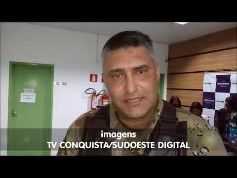 VÍDEO | Comandante da CIPE Sudoeste fala sobre homenagens pelos 14 anos da companhia | TV Conquista