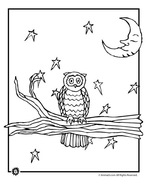 day  night coloring pages   print
